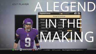Madden 25 Connected Franchise Player Creation Ep.1