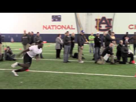 Chris Davis Pro Day highlights