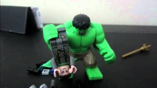 Hulk Vs Loki LEGO