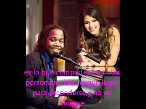Victoria Justice Y Leon Thomas lll-Tell me that you love me subtitulada