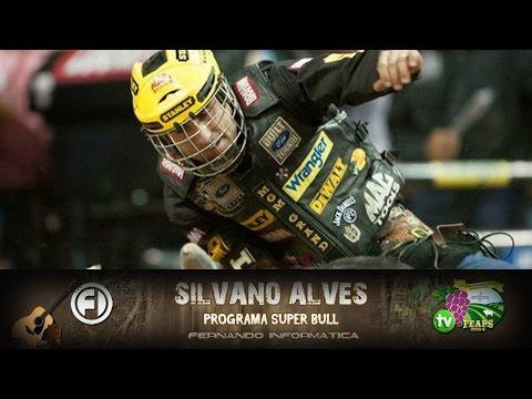 Silvano Alves - Bicampeão Mundial - Montaria em Touros