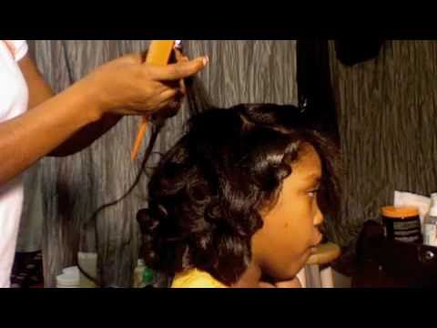 Organic Root Stimulator Olive Oil Relaxer Hair Care Tutorial