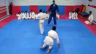 Examen Grade Ceinture Orange Judo 1.AVI