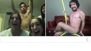 Miley Cyrus Wrecking Ball (Chatroulette Version)