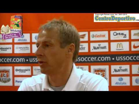 Klinsmann press conference the day before the big game in San Jose, Costa Rica, 1 of 2