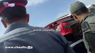 فاجعة قطار بوقنادل..لحظة انتشال جثة سائق التران ..شوفو أشنو وقع (فيديو مؤثر ) | بــووز