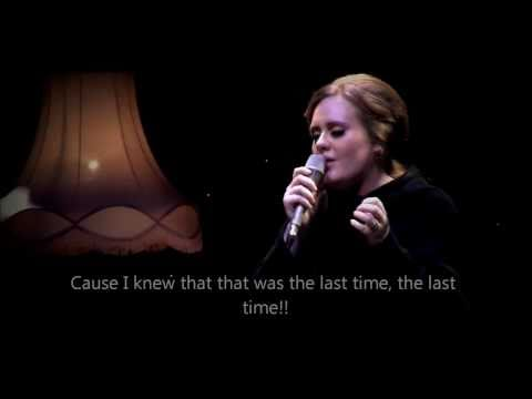 adele - live live at the tabernacle lyrics