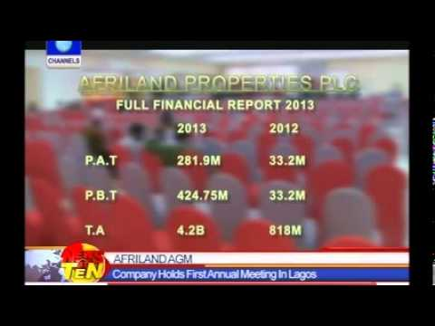 Afriland Propoerties Plc,2014  Annual General Meeting