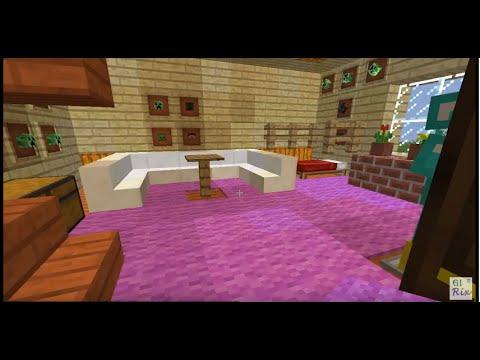 Minecraft -  Hướng dẫn xây nhà đẹp Và cách trang trí ngôi nhà