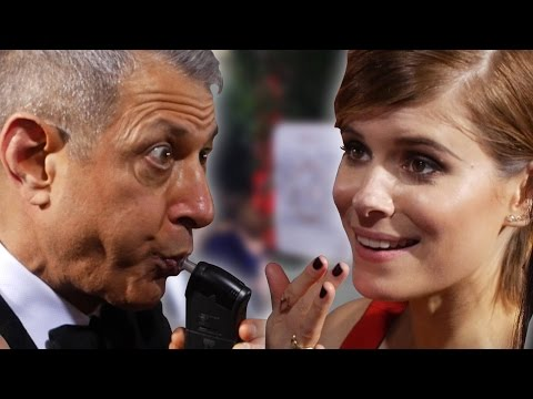 Breathalyzing Celebrities At The Golden Globes