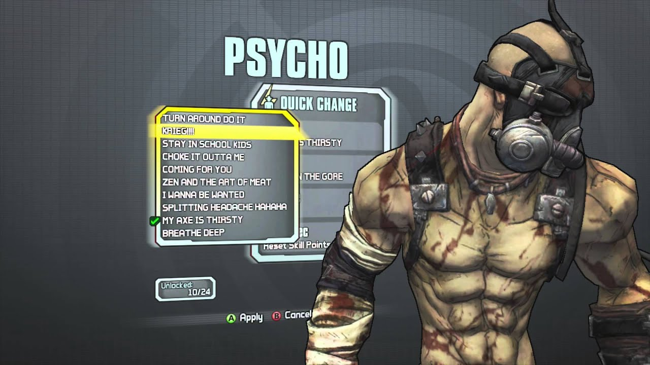 Borderlands 2 - Psycho Domination Pack (MY AXE IS THIRSTY ... Borderlands 2 Shift Codes