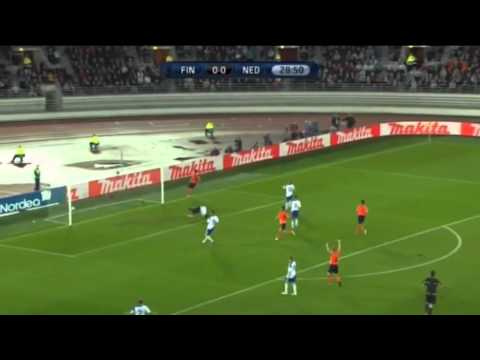 Finland 0-2 Netherlands All Goals & Highlights 06.09.11 (HD)