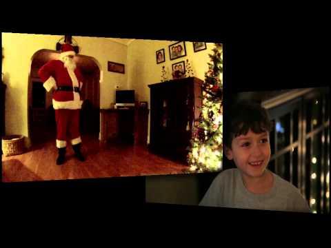 7-годишниот Еван постави камера за да го сними Дедо Мраз на дело. И успеа во тоа!