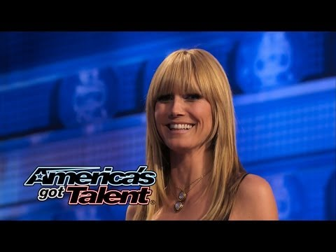 Rich Magician: Magician Removes Heidi Klum's Bra - America's Got Talent 2014