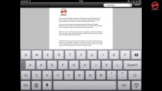 Adobe Reader App For IOS IPad IPhone And IPod Touch