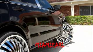 "Cadillac SRX on 28"" DUB Swyrl Floaters done by WTW Customs videos"