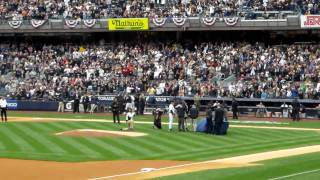 Yankees Opening Day 2010 Ring Ceremony Part 2