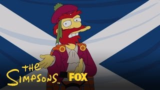 Willie's Views On Scottish Independence | THE SIMPSONS | ANIMATION on FOX
