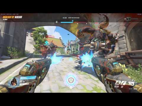 Overwatch Tracer 01 1st Game as Tracer 2017
