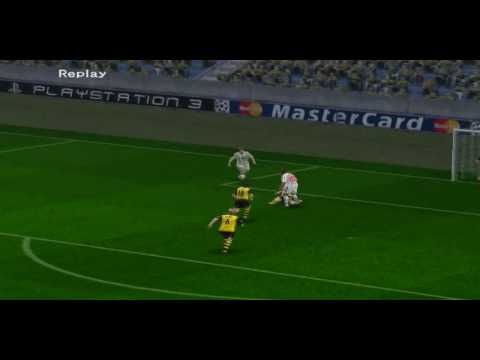 PES 5 online kristian826 vs Rebel goals 4