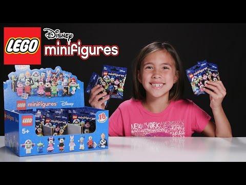 LEGO DISNEY MINIFIGURES - PART 4!!! JillianTubeHD Blind Bag UNBOXING!