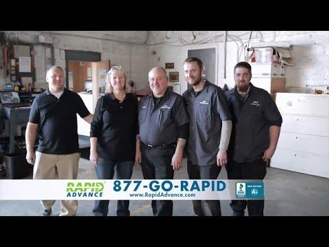 RapidAdvance National TV Commercials   RapidAdvance