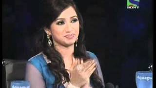 X Factor India - Seema's hilarious act on Hum Kaale Hain To Kya Hua- X Factor India - Episode 25 - 6