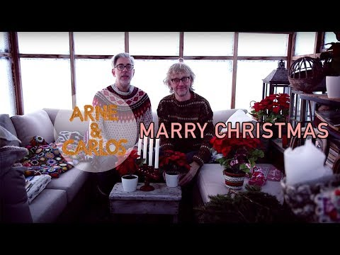 MERRY CHRISTMAS from ARNE & CARLOS