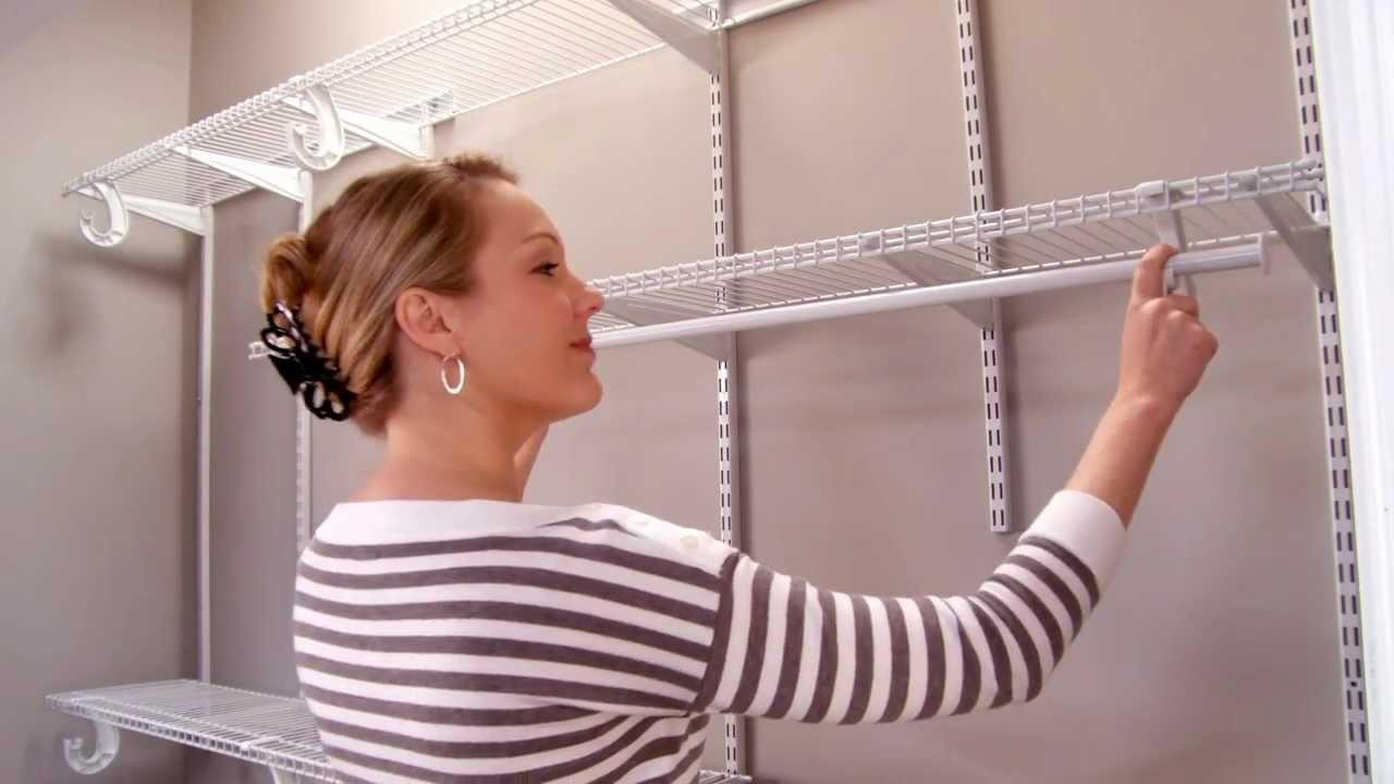Closetmaid Shelftrack Installation Video Youtube