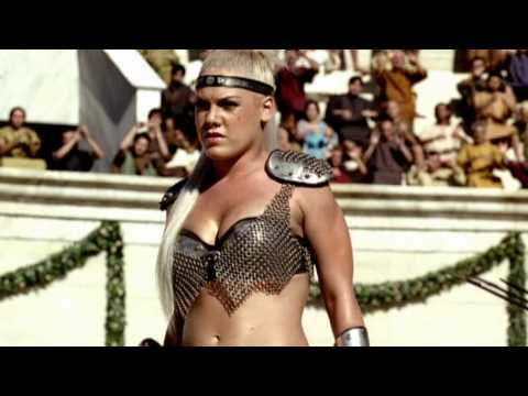 Pepsi Commercial HD - We Will Rock You (feat. Britney Spears, Beyonce, Pink & Enrique Iglesias), http://www.glassworks.co.uk/ The commercial is set in the Roman Coliseum. A gladiatorial combat between 3 lady gladiators is about to occur. They come out to...