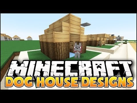 Minecraft: Dog House Designs & Ideas