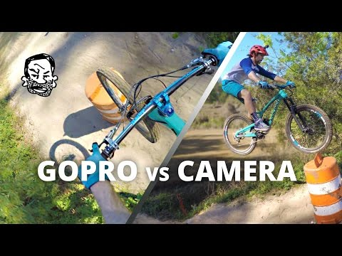 MTB Shots from Different Angles - GoPro Vs Reality 2
