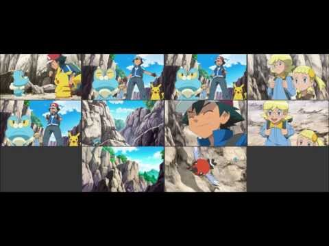 {Pokemon X and Y Series} Episode #806: Froakie VS Fletchling! Air Maneuver Battle!!
