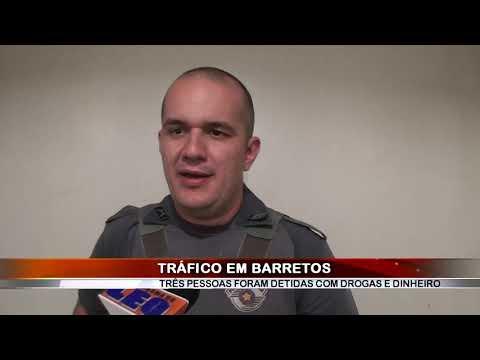 18/05/2020 - Dois adultos e um adolescente são detidos com drogas em Barretos