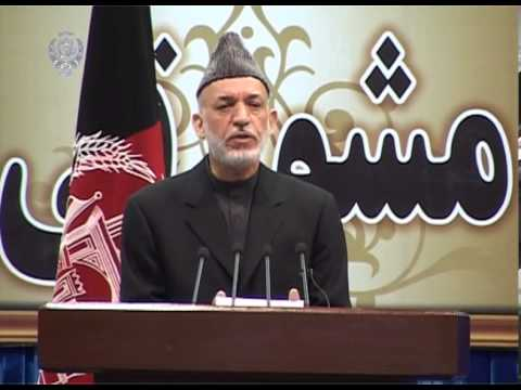 President Karzai's  Speech at Consultative Loya Jirga -- November 21, 2013