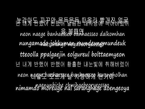Jung Yong Hwa-  You've Fallen For Me Lyrics [Hangul+Romanized] (Heartstrings OST)