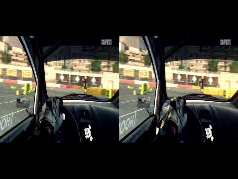 DiRT 3 Gymkhana in Monaco in 1080p Stereo 3D (yt3d)
