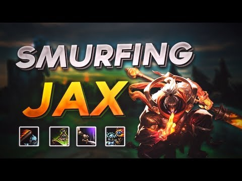 JAX GAMEPLAY! HOW TO JUNGLE SEASON 8 GUIDE! SILVER TO CHALLENGER EU - League of Legends