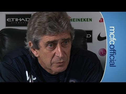 PELLEGRINI ON MOURINHO | Norwich v City Manuel Pellegrini press conference