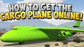 GTA 5 Glitches NEW How To Get The Cargo Plane Glitches