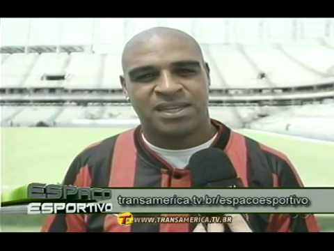 TV Transamérica - Atlético-PR contrata Adriano Imperador