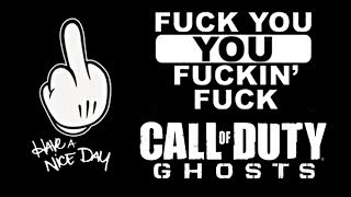GHOSTS FUCKING SUCKS FIX YOUR SHIT GAME INFINITY WARD
