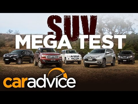 2016 Family 4x4 SUV Comparison - Everest v MU-X v Pajero Sport v Patrol v Fortuner