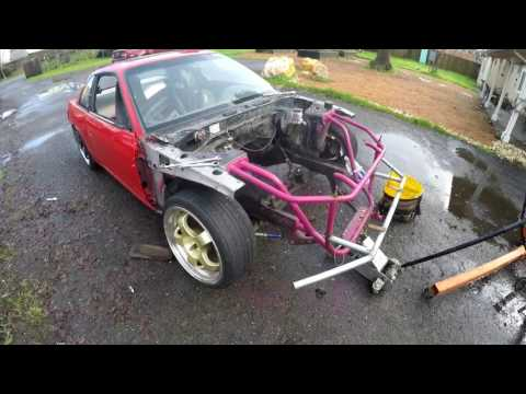 Cheap ls 5.3 240sx daily drift build