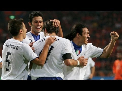 Highlights: Olanda-Italia 1-3 (12 novembre 2005)