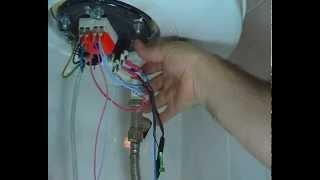 Probar resistencia del termo eléctrico