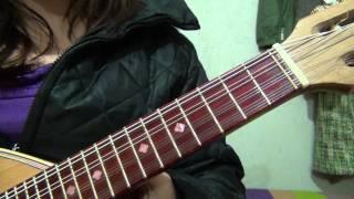Las notas de la mandolina