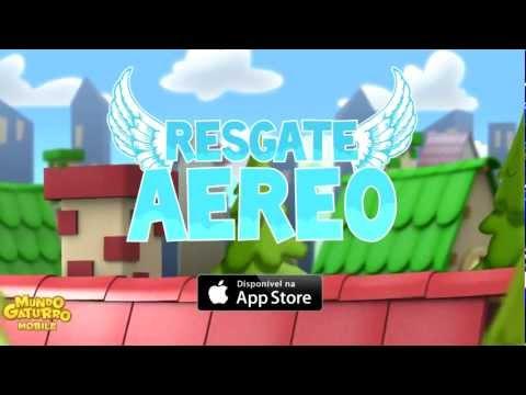 Mundo Gaturro Jogos Móveis - Resgate Aéreo