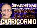 Video Horóscopo Semanal CAPRICORNIO  del 25 al 31 Julio 2021 (Semana 2021-31) (Lectura del Tarot)