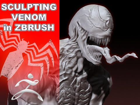 Venom ZBRUSH Speed Sculpt
